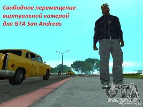 Frei bewegliche Kamera für GTA San Andreas