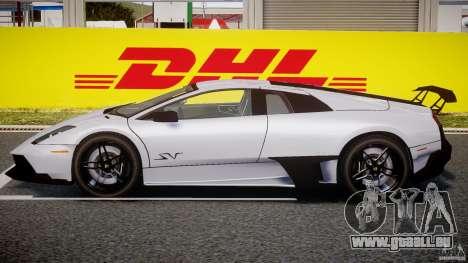 Lamborghini Murcielago LP670-4 SuperVeloce pour GTA 4 Vue arrière de la gauche