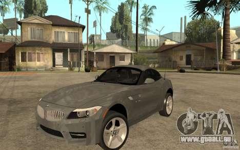 BMW Z4 sdrive35is 2011 pour GTA San Andreas