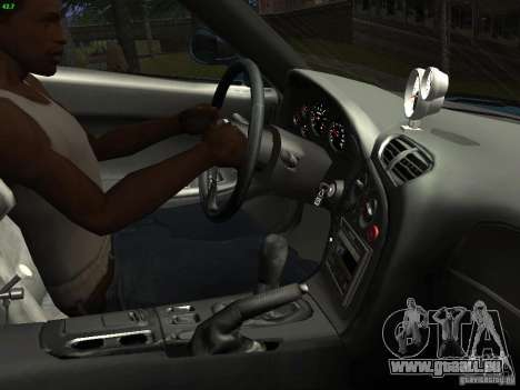 Mazda RX 7 Veil Side für GTA San Andreas Innenansicht