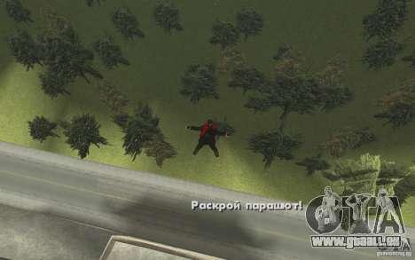 Animation von GTA IV V 2.0 für GTA San Andreas elften Screenshot