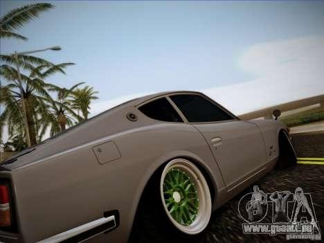 Nissan 280 Fairladyz 4.32 pour GTA San Andreas vue de droite