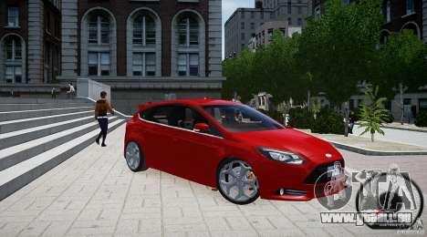 Ford Focus ST 2012 pour GTA 4 est un droit