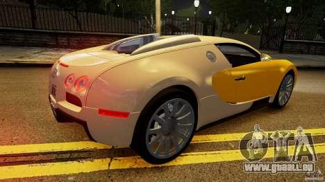Bugatti Veyron 16.4 v1.0 wheel 2 pour GTA 4 vue de dessus