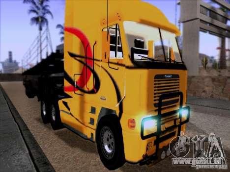 Freightliner Argosy Skin 2 pour GTA San Andreas laissé vue