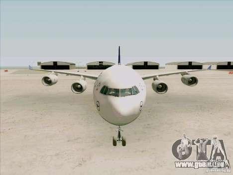 Airbus A-340-600 Lufthansa pour GTA San Andreas vue intérieure