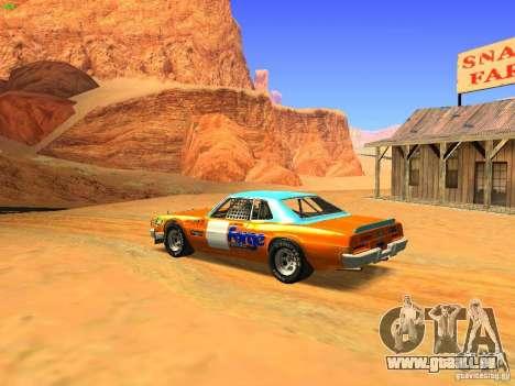 Jupiter Eagleray MK5 für GTA San Andreas linke Ansicht