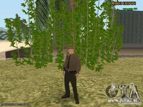 SAPD skins pour GTA San Andreas quatrième écran