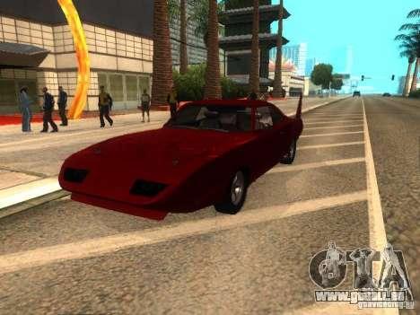 Dodge Charger Daytona Fast & Furious 6 für GTA San Andreas rechten Ansicht