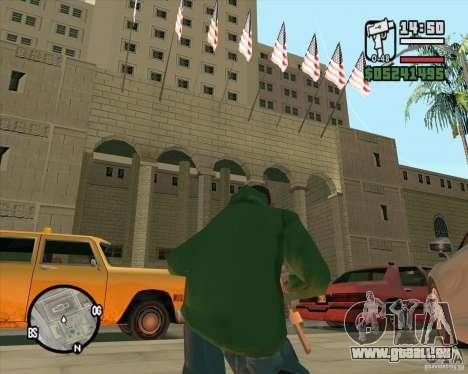 Verbesserte Textur des Rathauses für GTA San Andreas dritten Screenshot
