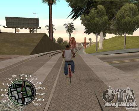 Compteur de vitesse pour GTA San Andreas