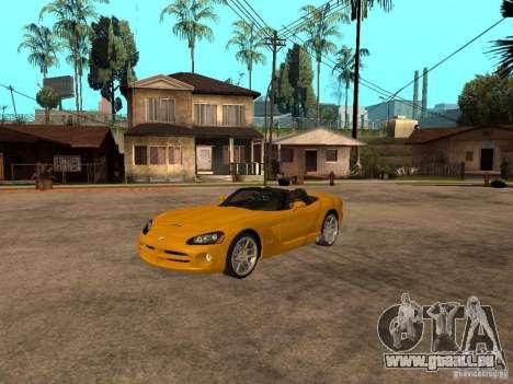 Dodge Viper SRT10 Impostor Tuning pour GTA San Andreas