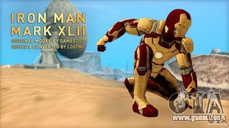 Iron Man Mark 42 pour GTA San Andreas
