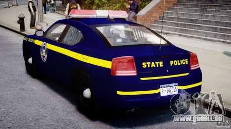 Dodge Charger NY State Trooper CHGR-V2.1M [ELS] pour GTA 4 est un droit
