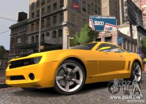 Chevrolet Camaro concept 2007 für GTA 4 linke Ansicht