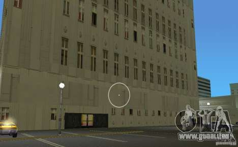 New Downtown: Hospital and scyscrap für GTA Vice City Screenshot her