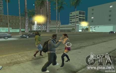 Animation von GTA IV für GTA San Andreas sechsten Screenshot