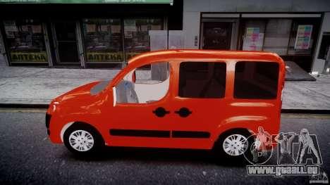 Fiat Doblo 1.9 2009 pour GTA 4 est une gauche