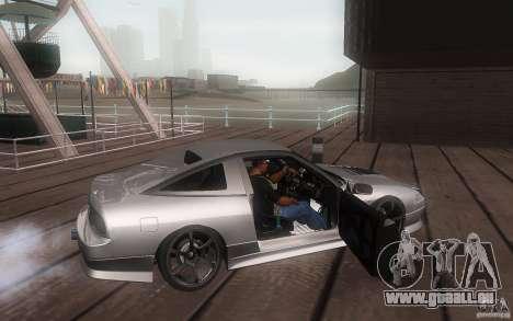 Nissan 180sx v2 pour GTA San Andreas vue arrière