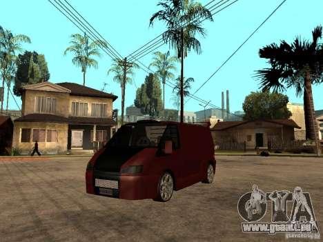 Ford Transit Tuning für GTA San Andreas
