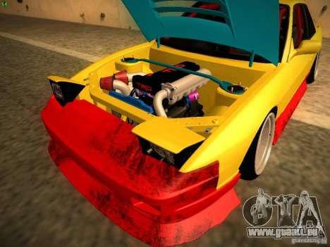 Nissan Onevia 2JZ pour GTA San Andreas vue intérieure