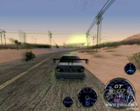 Bmw 330 Tuning für GTA San Andreas rechten Ansicht