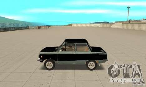 ZAZ 968 m ver 1.0 pour GTA San Andreas laissé vue