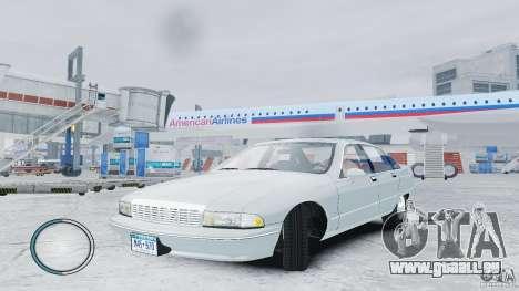 Chevrolet Caprice 1993 pour GTA 4