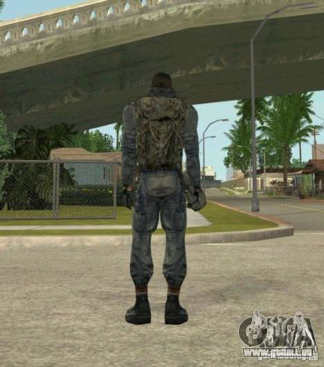 Regroupement de mercenaires d'un harceleur pour GTA San Andreas troisième écran
