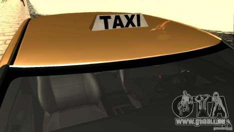 Dodge Charger SRT8 Re-Upload pour GTA San Andreas vue de dessus