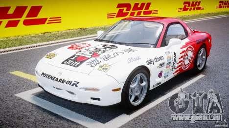Mazda RX-7 1997 v1.0 [EPM] pour GTA 4 Vue arrière