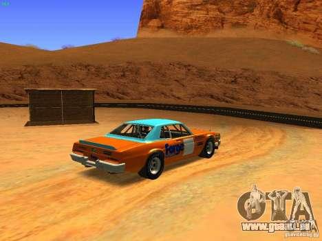 Jupiter Eagleray MK5 für GTA San Andreas zurück linke Ansicht