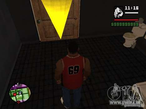 Private CJ für GTA San Andreas her Screenshot