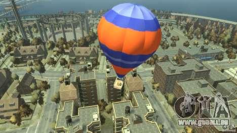 Balloon Tours option 6 pour GTA 4 Vue arrière de la gauche