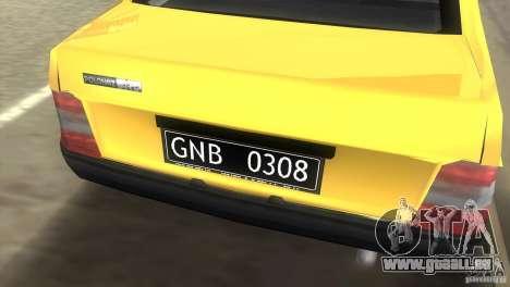 FSO Polonez Atu pour GTA Vice City sur la vue arrière gauche