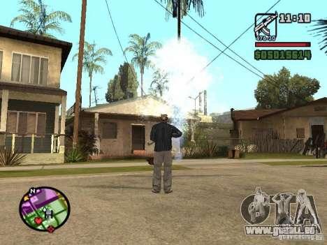 Overdose effects V1.3 pour GTA San Andreas deuxième écran