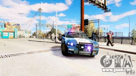 POLICIA FEDERAL MEXICO DODGE CHARGER ELS für GTA 4 rechte Ansicht
