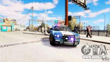 POLICIA FEDERAL MEXICO DODGE CHARGER ELS pour GTA 4 est un droit
