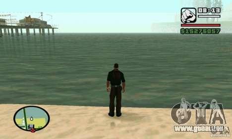 Segeln Sie in 2 mal schneller für GTA San Andreas