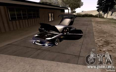Mazda RX-7 Hellalush pour GTA San Andreas roue