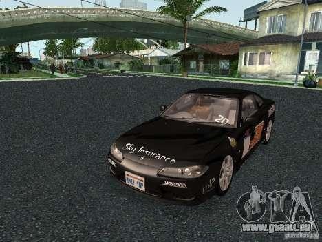 Nissan Silvia S15 Tunable pour GTA San Andreas vue de droite