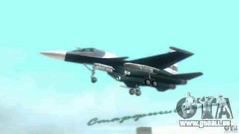 Vice City Air Force pour une vue GTA Vice City de la droite