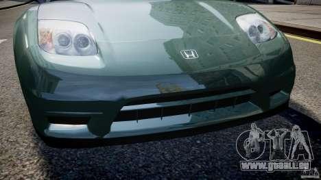 Honda NSX NA2 [Beta] pour GTA 4 roues
