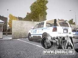 Ford Expedition Truck Enforcement pour GTA 4 Vue arrière de la gauche