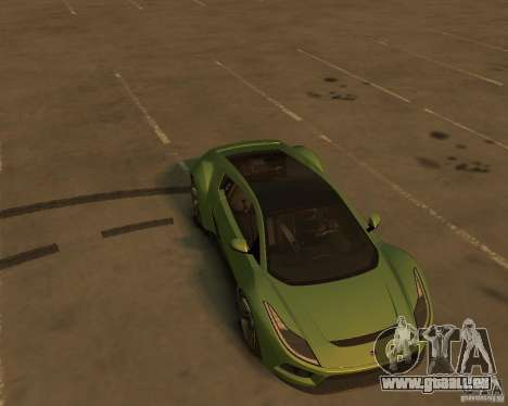 2010 Saleen S5S Raptor pour GTA 4 Vue arrière