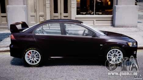 Mitsubishi Lancer X für GTA 4