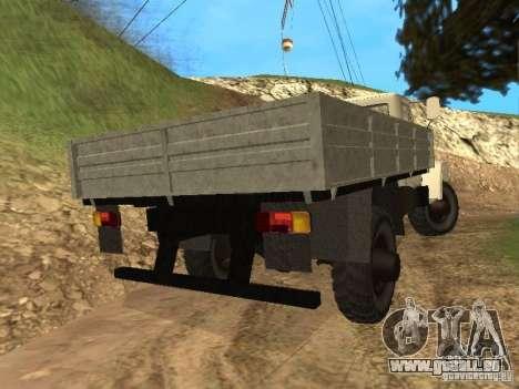 GAZ 3308 Sadko pour GTA San Andreas sur la vue arrière gauche