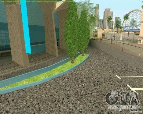 Nouvelles textures Los Santos Forum de stade pour GTA San Andreas quatrième écran