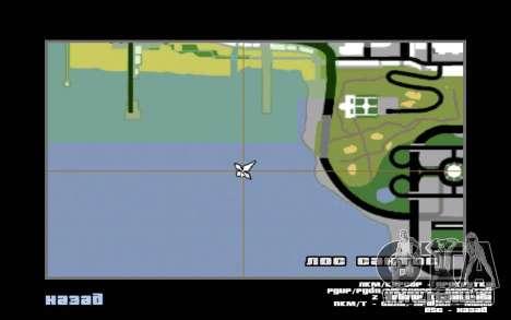 Mountain map für GTA San Andreas siebten Screenshot