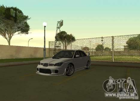 Subaru Impreza WRX STI-Street Racing pour GTA San Andreas vue intérieure